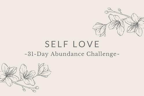 Day 1 - Self Love