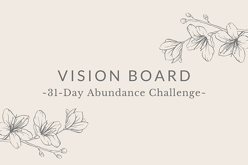 Day 13 - Vision Board