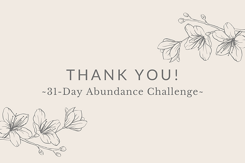 Day 14 - Thank You!