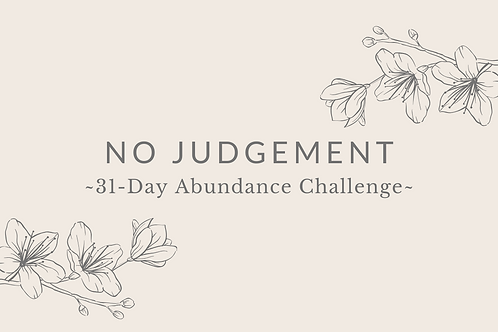 Day 24 - No Judgement