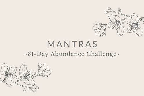 Day 3 - Mantras