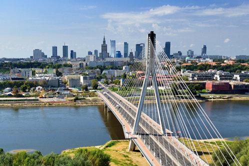 Wizyta w Warszawie i quiz o Polsce A1-/A2-