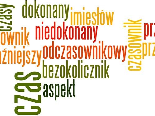 Aspekty. Fiszki powtórkowe (A2/B1+)