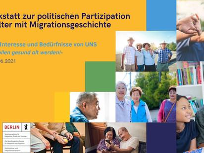 AG II: Interesse und Bedürfnisse von UNS – Thema: Wohnformen im Alter –
