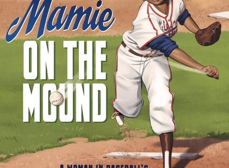 #20questions with MAMIE ON THE MOUND author