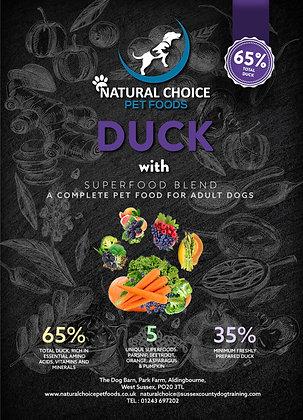 Duck, Parsnip, Beetroot, Orange, Asparagus & Pumpkin
