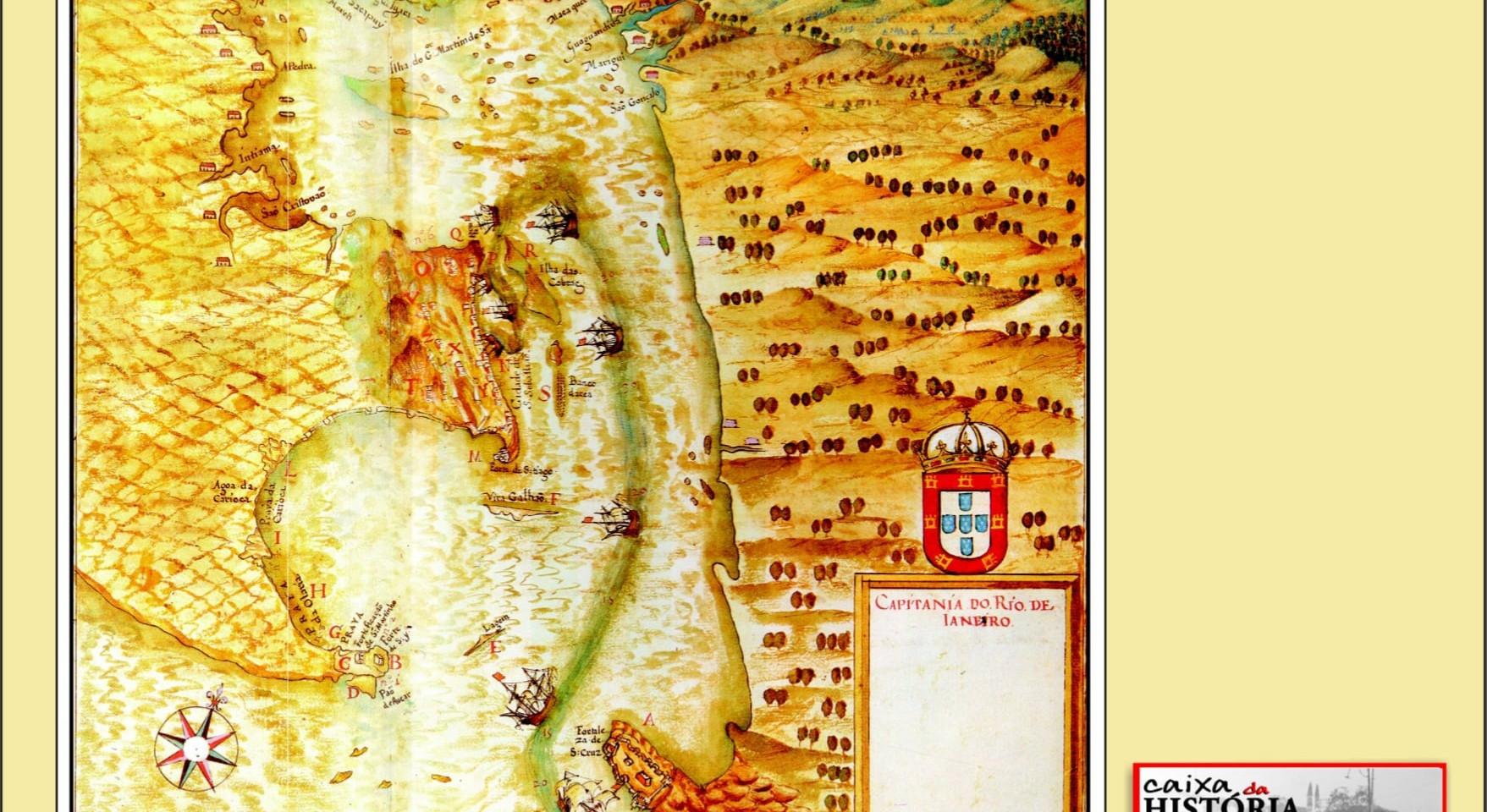 MAPA 6 - CAPITANIA DO RIO DE JANEIRO