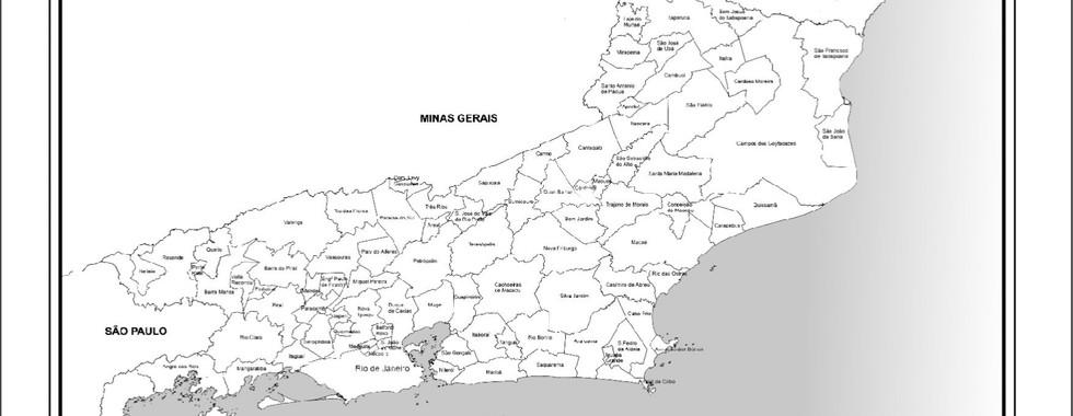 MAPA 2 - MAPA DO ESTADO DO RIO DE JANEIRO