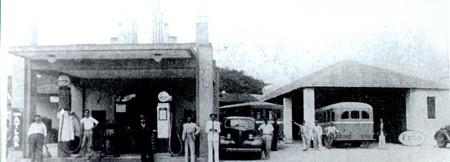 Trabalhadores em posto de gasolina e na garagem da Viação Cabuçu