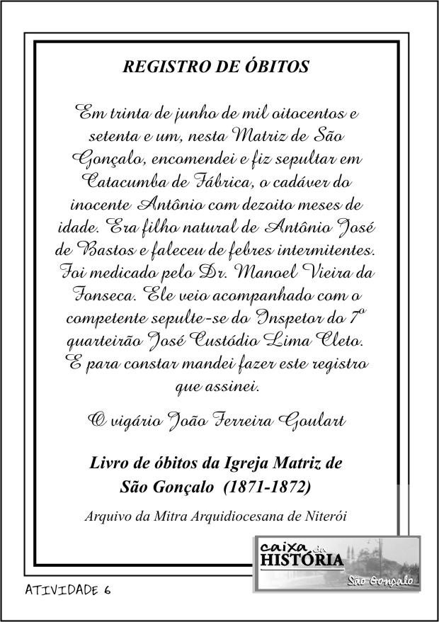 REGISTRO DE ÓBITOS