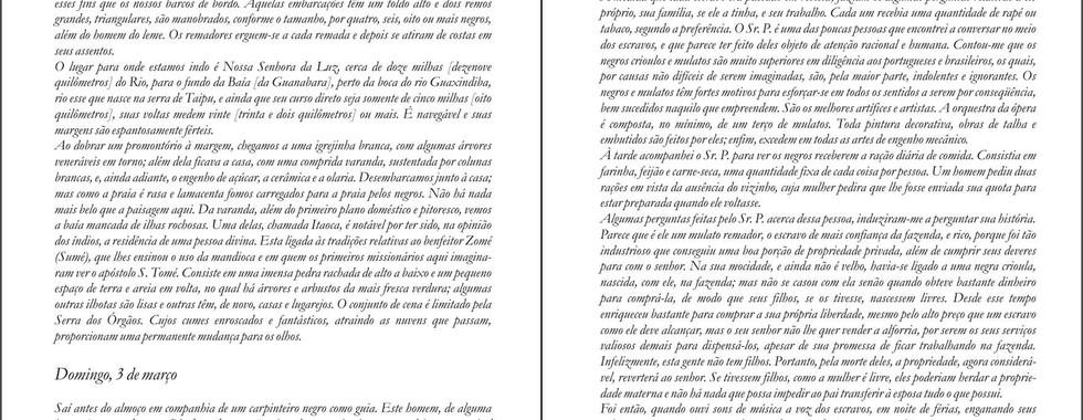 Maria Graham. Diário de uma viagem ao Brasil. 1824.