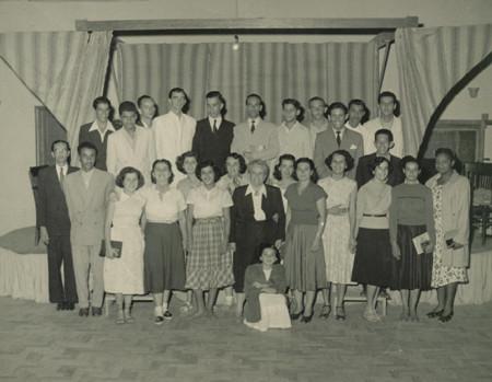 Formandos do curso de Contabilidade do Colégio São Gonçalo