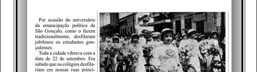 O Desfile Escolar de 22 de Setembro