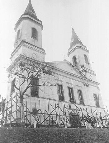 Igreja Matriz em reforma