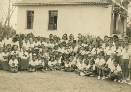 Alunos da E. M. Cardoso Fontes Paiva