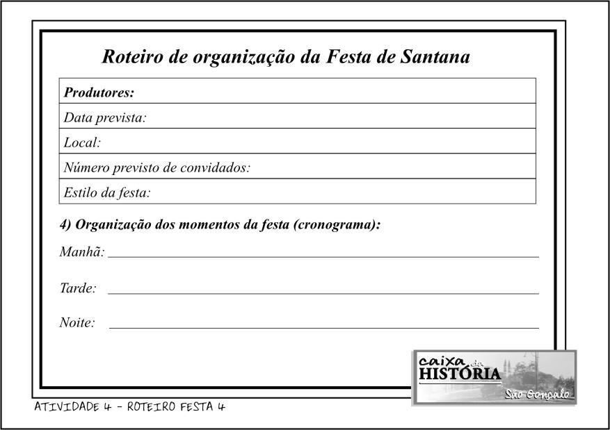 ROTEIRO FESTA 4
