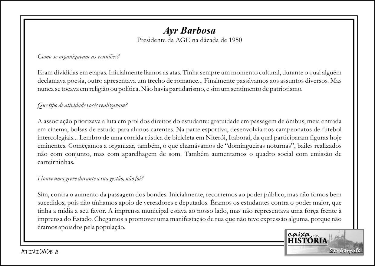 Ayr Barbosa - ficha 01