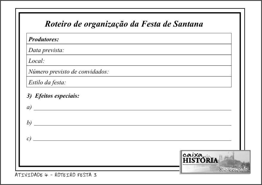 ROTEIRO FESTA 3
