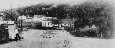 """""""Aspectos da Vila de São Gonçalo"""" (atual Praça Estephania de Carvalho)"""