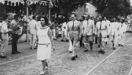 Vereadores de São Gonçalo em desfile cívico