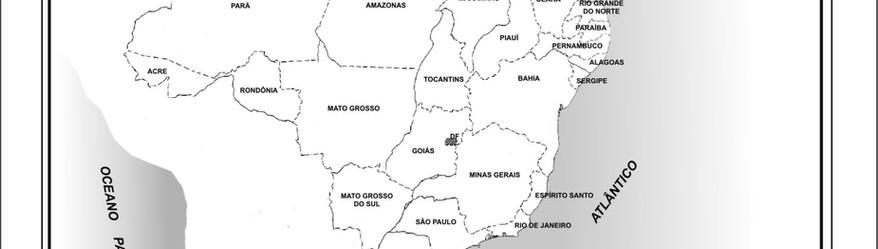 MAPA 1 - MAPA DO BRASIL