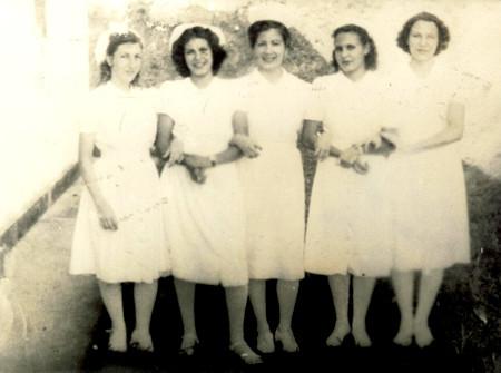 Enfermeiras do Lactário do Centro de Puericultura