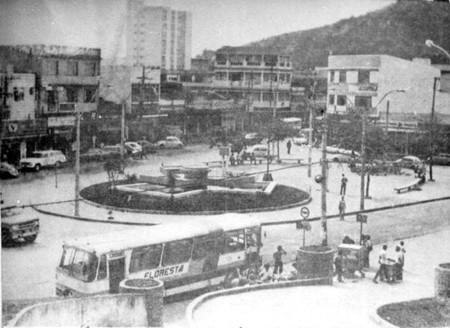 Praça Luiz Palmier, em Alcântara