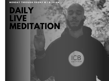 """""""Find Your Bliss"""" Daily Live Meditation"""