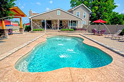 Leading Edge Traverse Bay Fiberglass Pool