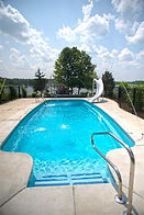Huron Shores Fiberglass Pool