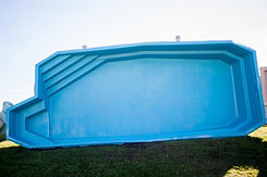 Manistique Fiberglass Pool