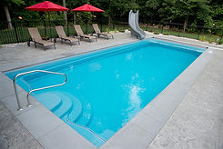Leading Edge Pentwater Fiberglass Pool