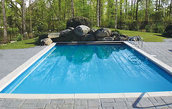 Bellaire Fiberglass Pool Shell