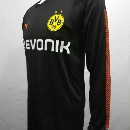 outlet store 1d796 d1a5d Borussia Dortmund Goalkeeper Black Jersey Long Sle