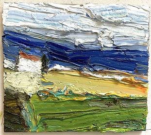 """Klaus-Fußmann-""""Landschaft-mit-Ostsee""""-40"""