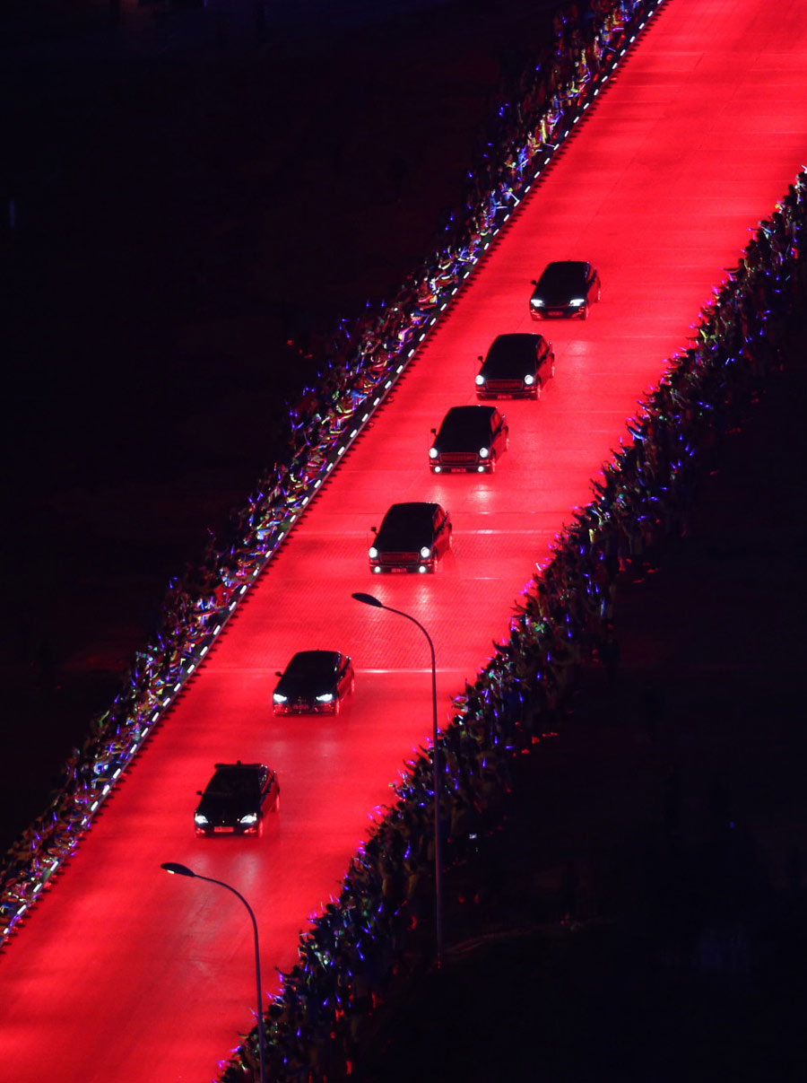 Red Carpet of Light