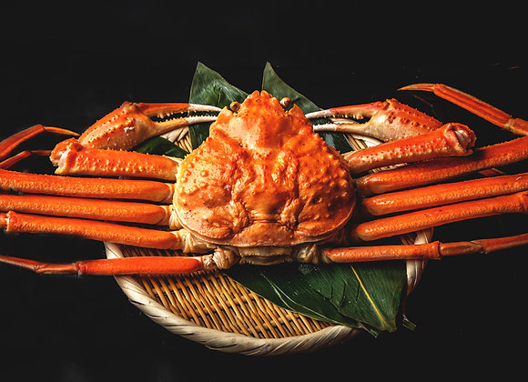 【魚匠米門※オプション】カナダ産特大本ズワイ蟹 1kg