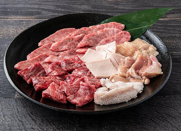 【南大門】焼肉カルホル盛り2~3人前