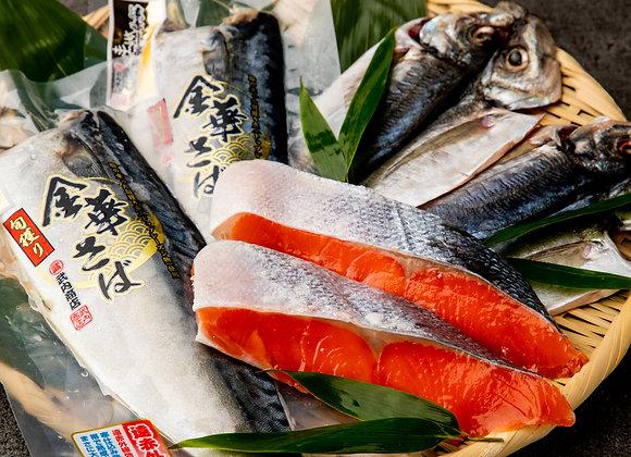 【魚匠米門】送料無料!厳選焼き魚3種6枚のプチ贅沢セット