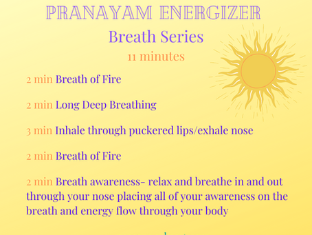 11 Minutes of Breath-work to ENERGIZE!