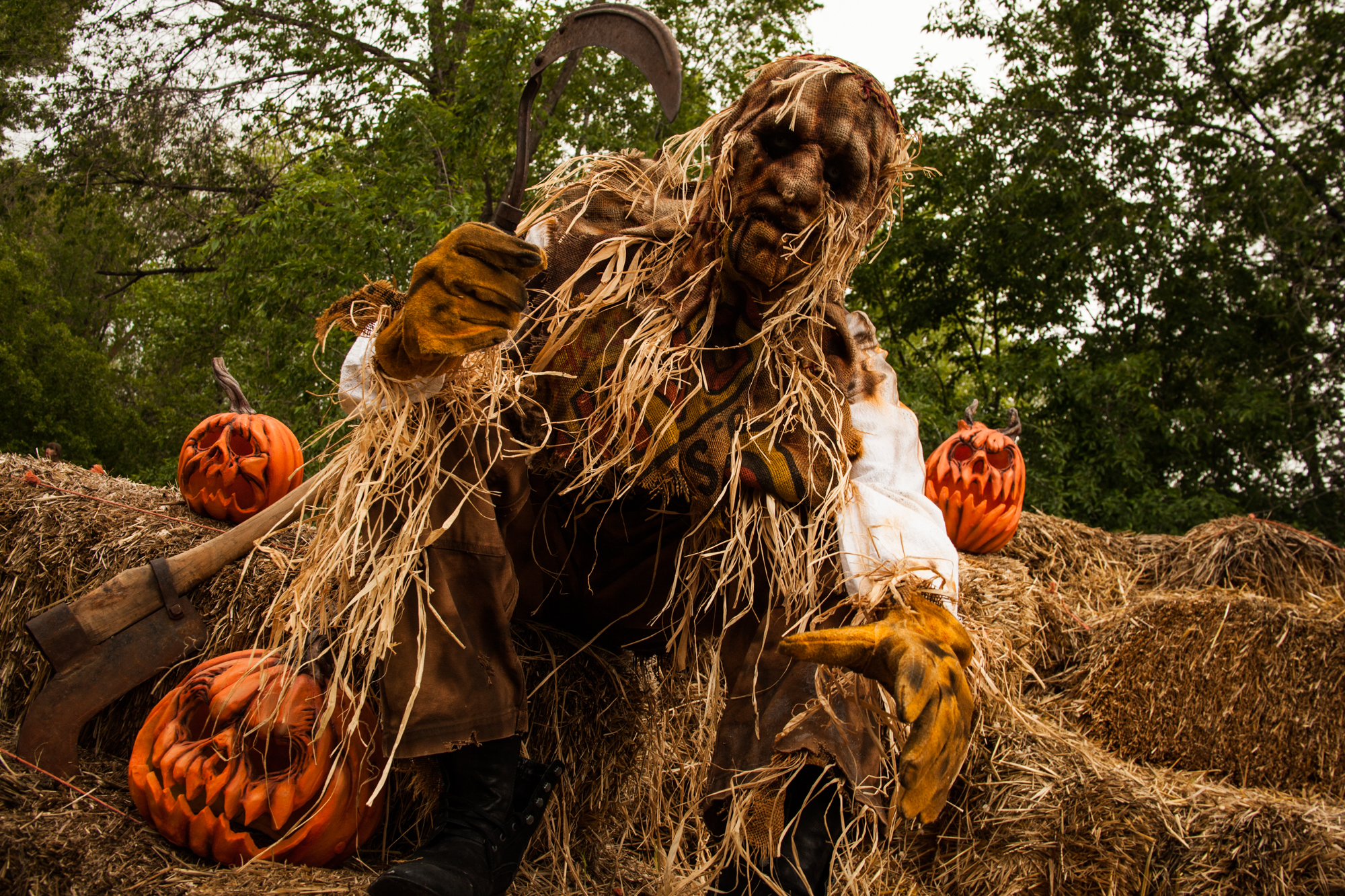 "Scarecrow mask ""Harvester"""