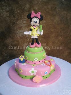 Custom Girls Birthday Cake