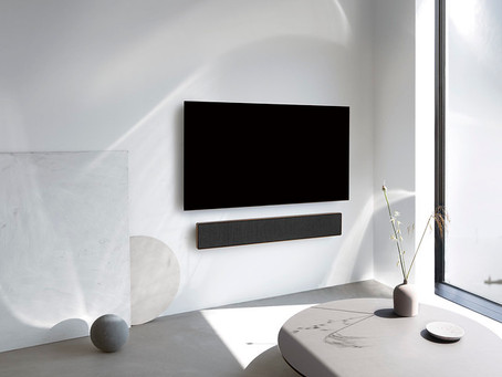 Bang & Olufsen's new soundbar works with any TV*
