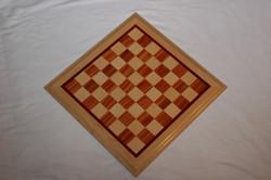 Chessboard Braz. Tulipwood/ Maple