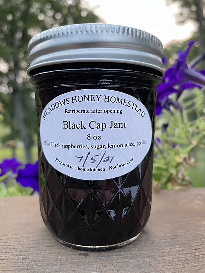 Black Raspberry Jam - Half Pint