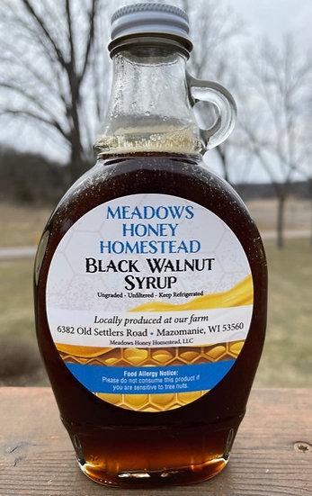 Dark Reserve Black Walnut Syrup - 8 ounce flask