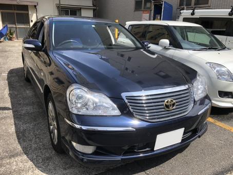 大田区 マジェスタ 車検切れ