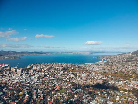 Postcard from Hobart, Tasmania