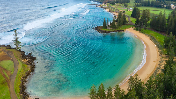 Postcard from Norfolk Island