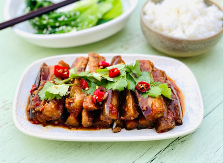Sichuan-Style Eggplant